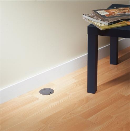 prise de sol plastique rubin lacaque mat riel lectrique prise de sol plastique. Black Bedroom Furniture Sets. Home Design Ideas